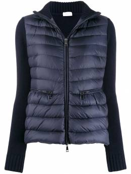 Moncler - knitted sleeve padded jacket 3366A996895599966000