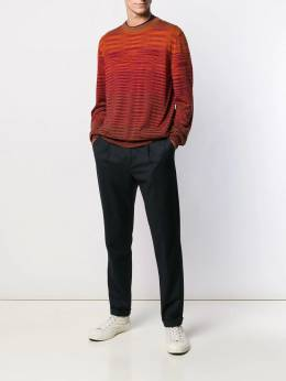 Missoni - long-sleeve fitted sweater 66950BK66BP955353580