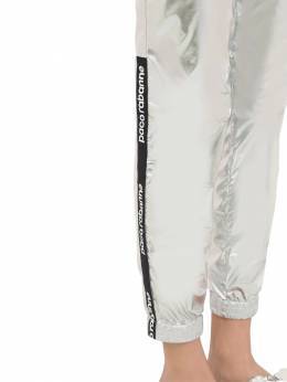 Light Waxed Nylon Track Pants Paco Rabanne 70IGFA040-MDQw0