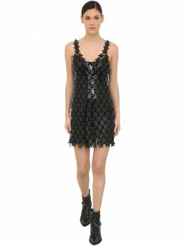 Star Rub Mesh Mini Dress Paco Rabanne 70IGFA008-MDAx0