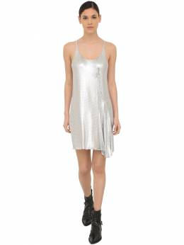 Flared Mini Mesh Tank Dress Paco Rabanne 70IGFA004-MDQw0