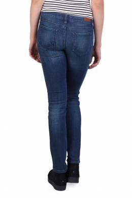 Синие узкие джинсы с потертостями Tommy Hilfiger 2838149103