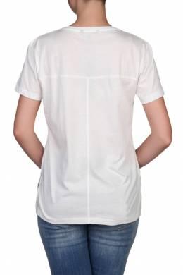 Белая футболка с кокеткой Tommy Hilfiger 2838148868