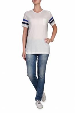 Белая футболка с сетчатыми вставками Tommy Hilfiger 2838148956