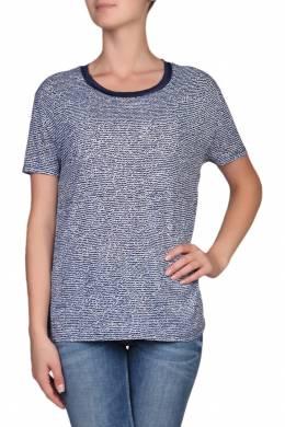 Голубая блуза с контрастной отделкой Tommy Hilfiger 2838148958