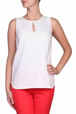 Блуза без рукавов белого цвета Tommy Hilfiger 2838148992