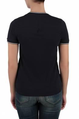 Темно-синяя футболка с контрастными полосками Tommy Hilfiger 2838149079