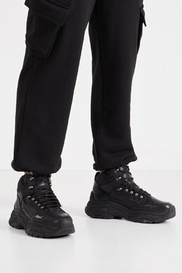 Черные треккинговые кроссовки Ash 6148865