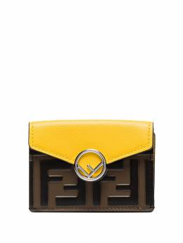 Fendi - FF-embossed trifold wallet 395A6CB9598593300000