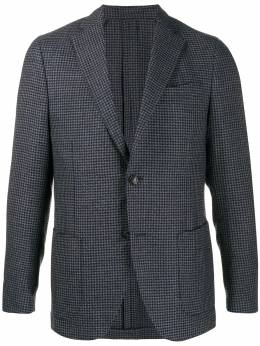 Dell'oglio - houndstooth fitted blazer 08AVILC5356595596699