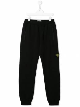 Stone Island Junior - TEEN straight leg track trousers 99669650953859030000