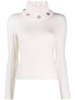 Alexander McQueen - turtle neck knitted sweater 666Q9AK9955066050000