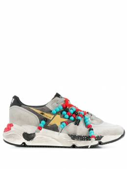 Golden Goose - Running bead detail sneakers WS963G09559959300000