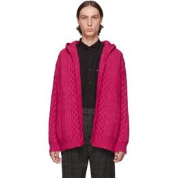 Saint Laurent Pink Baja Cardigan 192418M20000503GB
