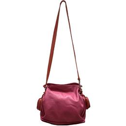 Loewe Two Tone Leather Flamenco Knot Bag 222075