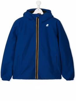 K Way Kids куртка с капюшоном и нашивкой-логотипом K00B0S0