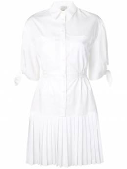Pinko - плиссированное платье-рубашка 59V3653Z659368596300
