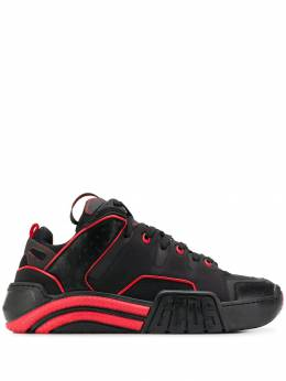 Gcds - contrast stitching sneakers 6M696696953655580000