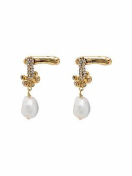 Givenchy - pearl flower earrings 6DRF66P3969593939500