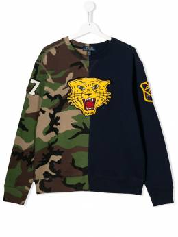 Ralph Lauren Kids - TEEN tiger print sweatshirt 99566995535833000000