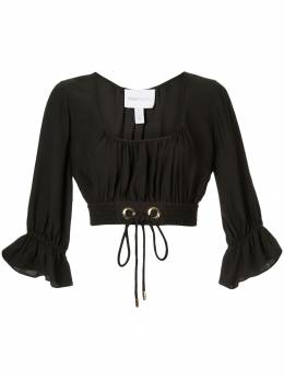 Alice Mccall укороченная блузка со сборками AMT29178BLACK