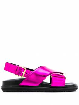 Marni - cross-over strap sandals S665369P086395599538