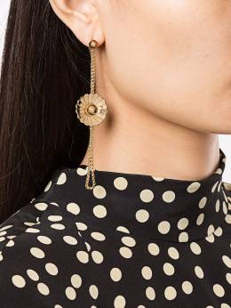 JW Anderson - flower and leaf pendant earrings 5399D966006950993900