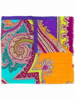 Etro - шарф с принтом пейсли 63563995035589000000
