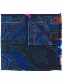 Etro - шарф с принтом пейсли 33395395955895000000