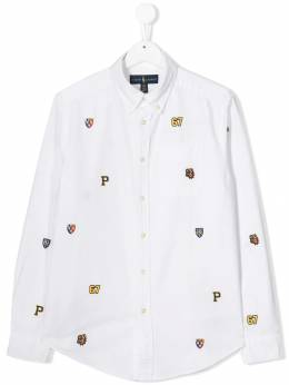 Ralph Lauren Kids - embroidered shirt 63666995535835000000