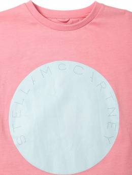 Футболка Из Хлопкового Джерси Stella McCartney Kids 70I6SH026-NjY1MA2