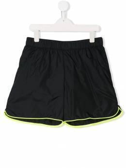 Balmain Kids плавательные шорты с контрастным кантом 6K0629KB930930GL