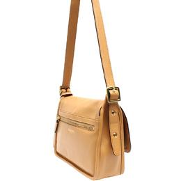 Coach Beige Leather Shoulder Bag 219332