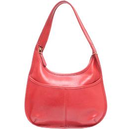 Coach Pink Leather Hobo Bag 219329