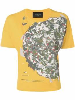 Mr & Mrs Italy - футболка с камуфляжным принтом 56E93505993000000000