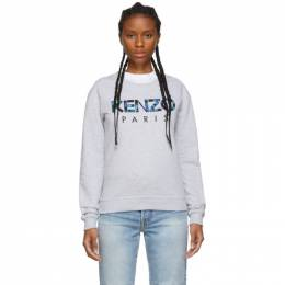 Kenzo Grey Kenzo Paris Sweatshirt 192387F09800101GB