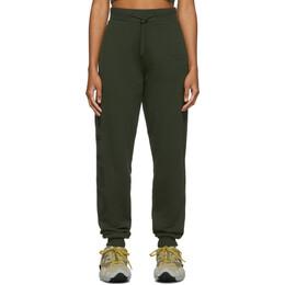Kenzo Khaki Sport Jogger Lounge Pants 192387F08600502GB