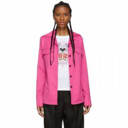 Kenzo Pink Wool Jacket 192387F10900104GB
