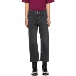 Balenciaga Black Cropped Jeans 192342M18601207GB
