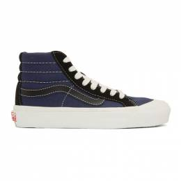 Vans Blue OG 138x High Top Sneakers 192739F12701906GB