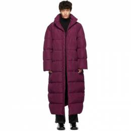 Balenciaga Pink Down Oversized Puffer Coat 192342M17800402GB