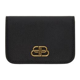 Balenciaga Black Mini BB Mono Wallet 192342F04000701GB