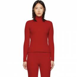 Balenciaga Red Wool and Cashmere Turtleneck 192342F09900803GB