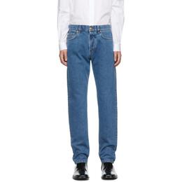 Versace Blue Slim-Fit Jeans 192404M18600608GB