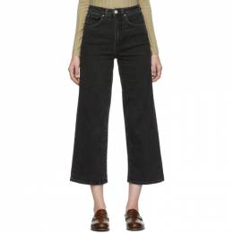 Toteme Black Flair Jeans 192771F06901501GB