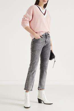 Серые «вареные» джинсы Maje 888149604