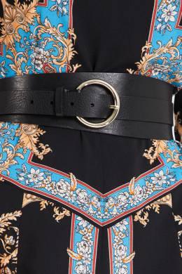 Асимметричный ремень с круглой пряжкой Sandro 914149659
