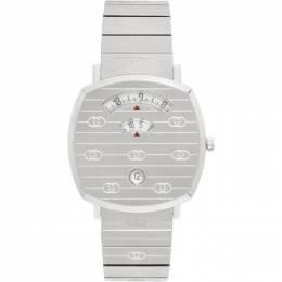 Gucci Silver Grip Watch 192451M16500901GB