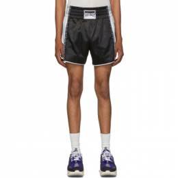 Versace Black Athletic Shorts 192404M19300602GB