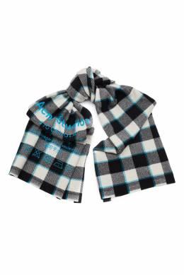 Шерстяной шарф в клетку Acne Studios 876149684